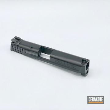 Cerakoted Slide In Graphite Black