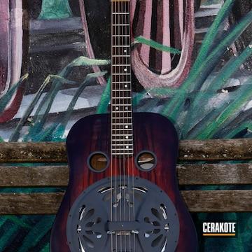 Cerakoted Refinished Guitar Parts