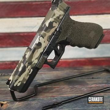 Cerakoted Cerakote Multicam Camo Glock 17