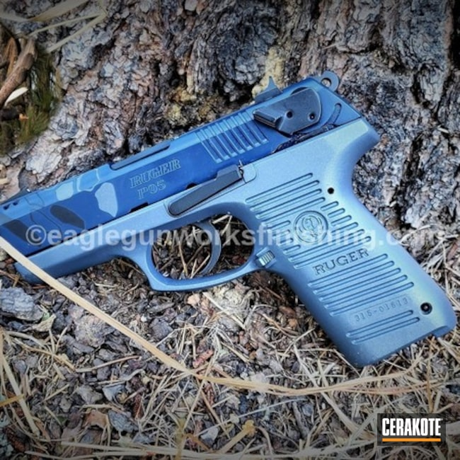 "Thumbnail image for project ""Ruger P95 Handgun with Cerakote H-295, H-238, H-127 and E-110"""