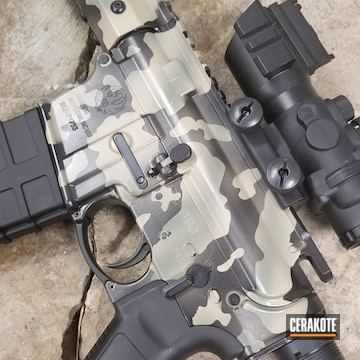 Cerakoted Ruger Rifle And Cerakote Multicam Finish
