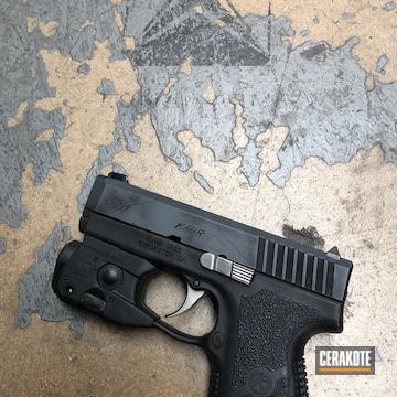Cerakoted Battleworn Kahr Arms Handgun