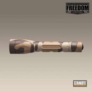 Cerakoted Cerakoted Surefire P3x Fury Flashlight