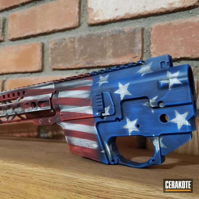 Freedom Ordnance and a Cerakote American Flag Finish