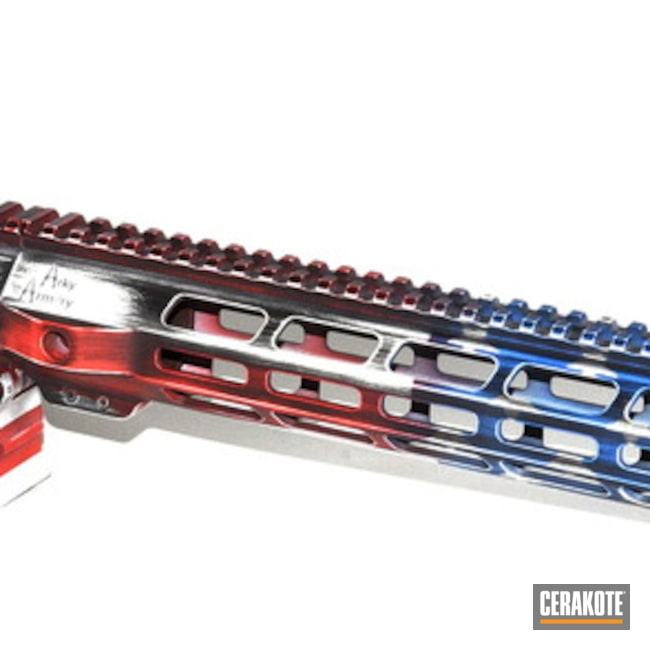"Thumbnail image for project ""Battleworn American Flag Upper / Lower / Handguard"""