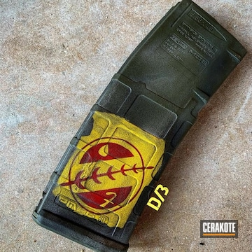 Cerakoted Star Wars Mandalorian Themed Rifle Magazines