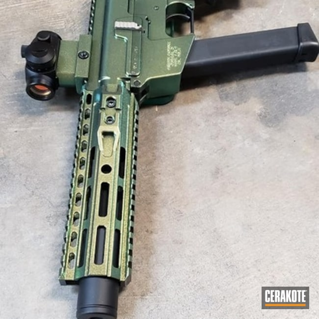 FX-9 Cerakote and Gun Candy Caiman Finish