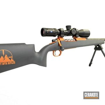 Cerakoted Snowy Mountain Rifles Alpine Hunter With Cerakote H-210 And H-310