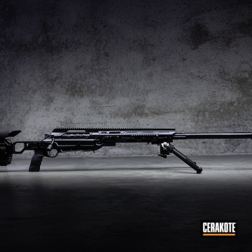 Cerakoted Cadex Defence Cdx-50 Tremor Finished In E-100 Blackout