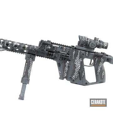 Cerakoted Matching Cerakote Finish On This Kriss Vector And Kimber Handgun