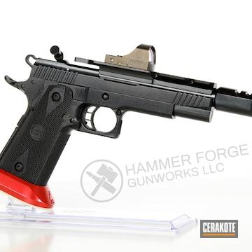 Cerakoted Sti Race Gun Coated With H-167, H-146 And Mc-160