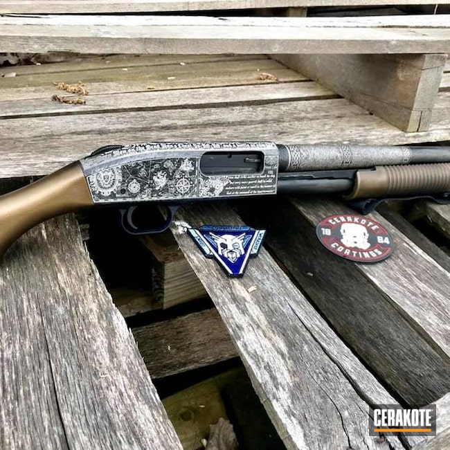 Pirate Themed Mossberg Shockwave Shotgun