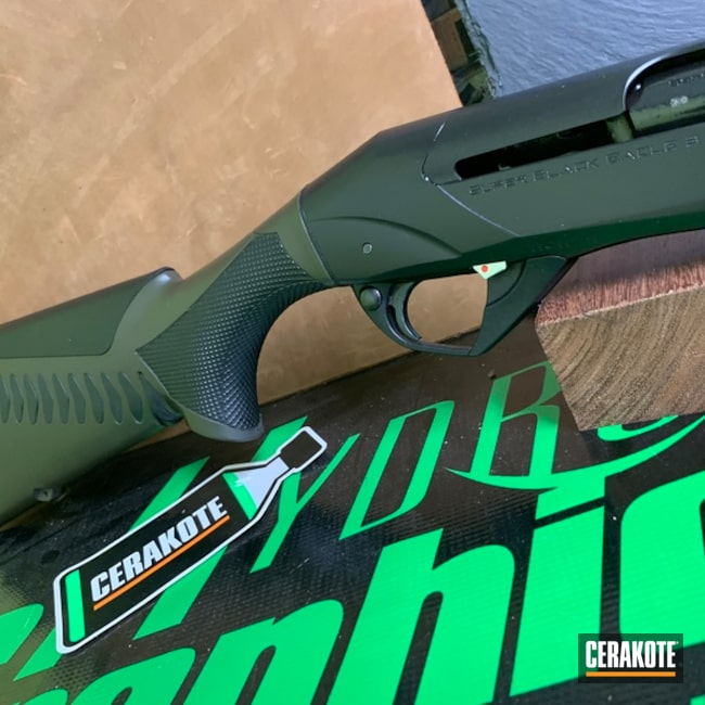 "Thumbnail image for project ""Benelli Super Black Eagle III Shotgun finished with Cerakote H-232"""