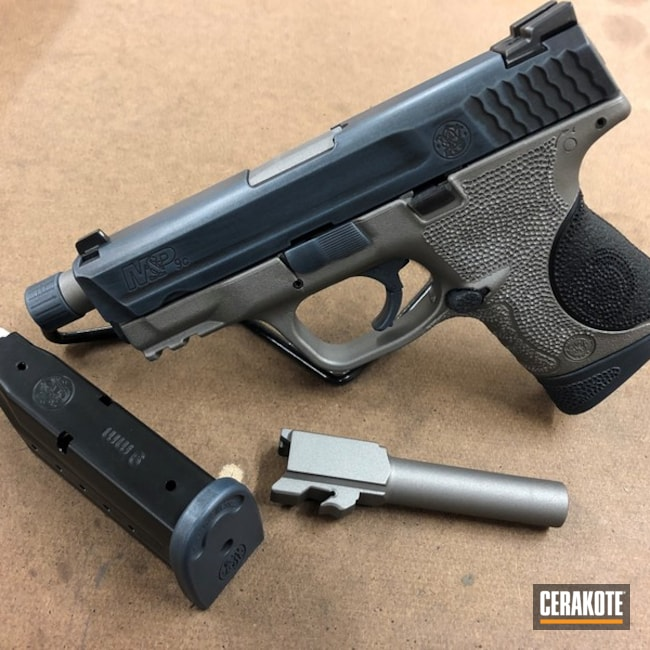 "Thumbnail image for project ""Smith & Wesson Handgun with Cerakote H-146, H-185 and H-219"""
