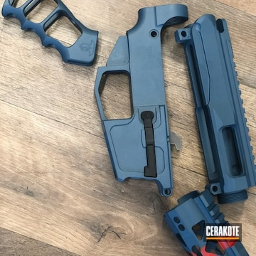 Cerakoted Ar9 Parts Cerakoted In H-167 And H-185