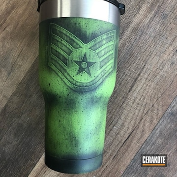 Cerakoted Air Force Themed Tumbler Cup