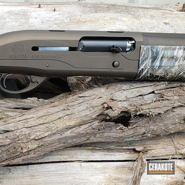 Cerakoted Beretta Shotgun Cerakoted With H-294