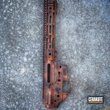 Cerakoted Upper / Lower / Handguard Finished With H-146