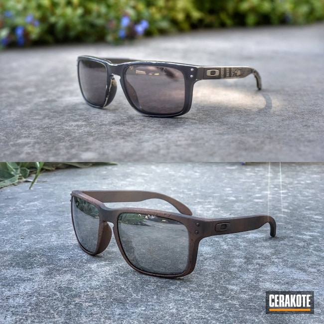 "Thumbnail image for project ""Cerakoted Oakley Holbrook Sunglasses"""