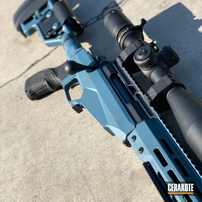 "Thumbnail image for project ""Ruger Rifle with a Cerakote H-185 Blue Titanium Finish"""