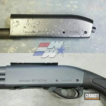 Cerakoted Remington 870 Shotgun Restoration