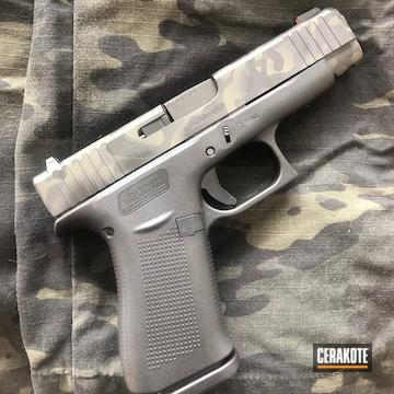 Cerakoted G48 Glock Multicam Finish