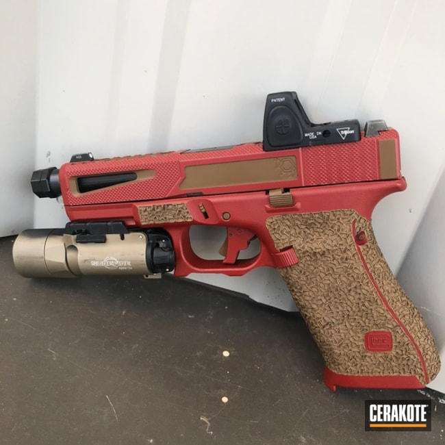 "Thumbnail image for project ""Custom Glock 19X Handgun with Cerakote H-250 and H-221"""