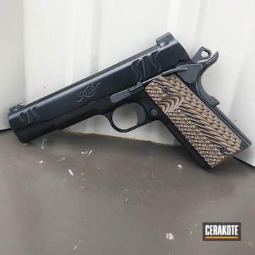 Cerakoted Kimber 1911 Finished With E-120 And H-120