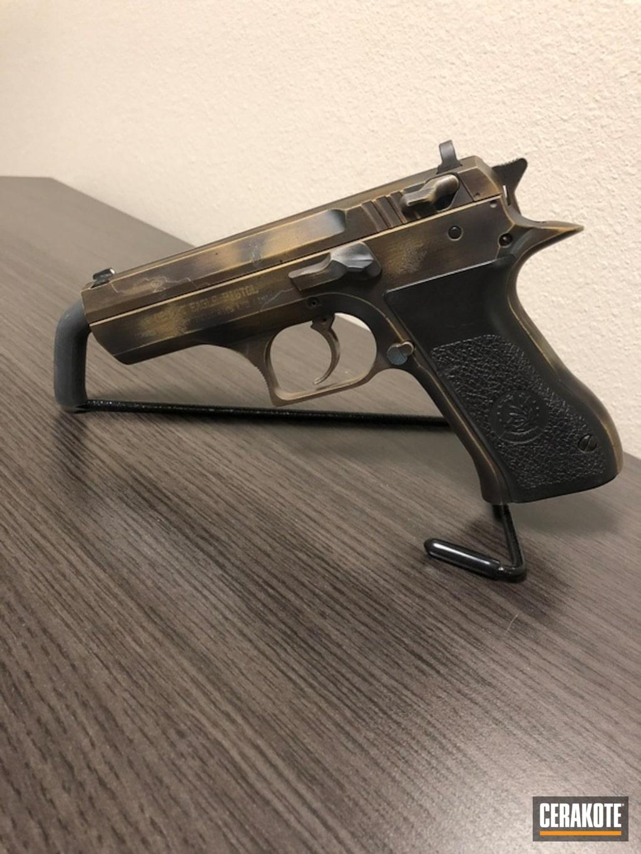 Cerakote Patina Finish On This Baby Desert Eagle Handgun By Web User Cerakote