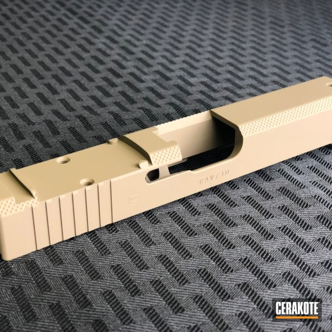 Cerakoted: SHOT,MAGPUL® FLAT DARK EARTH H-267,Gun Coatings,Slide