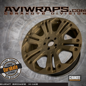 Cerakoted Xd Wheels With A Cerakote H-148 Burnt Bronze Finish
