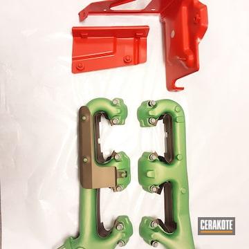 Cerakoted Small Block Chevy Parts And Custom Cerakote High Temp Finish
