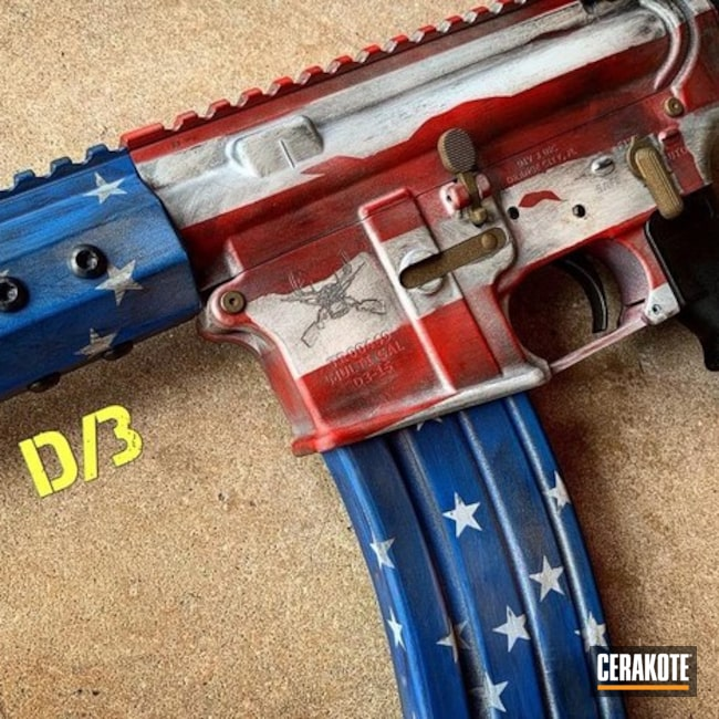 Battleworn American Flag Cerakote Finish
