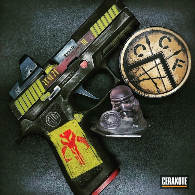 Boba Fett Themed Sig Sauer P320 X-Carry