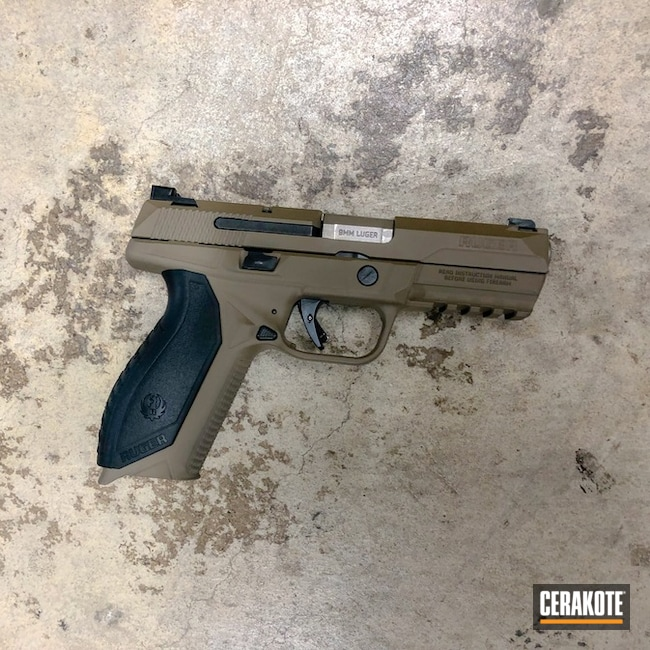 Ruger 9mm Ceraked with H-167