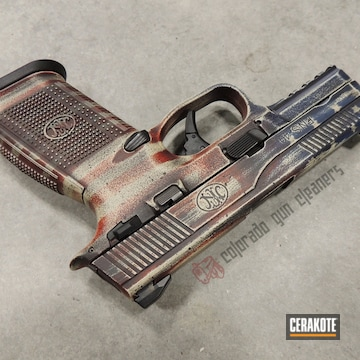 Cerakoted Fn Herstal American Flag Cerakote Finish