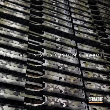 Cerakoted Walther Ppq Slides With Cerakote Multicam Finish
