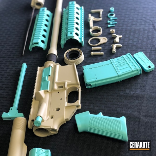 Two Toned AR Parts with H-175 and H-143