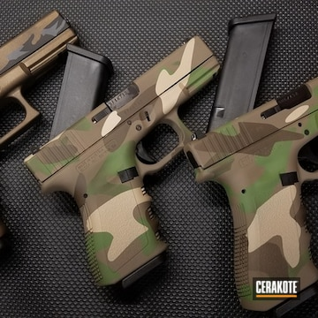 Cerakoted Cerakote Multicam Finish