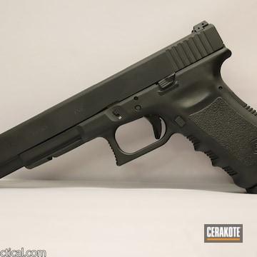 Cerakoted Glock 17l Cerakoted In Hir-146 Gen Ii Graphite Black