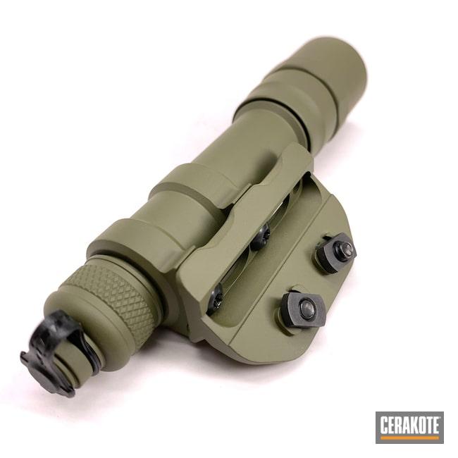 Cerakoted: S.H.O.T,Sniper Green H-229,Surefire,Surefire Flashlight