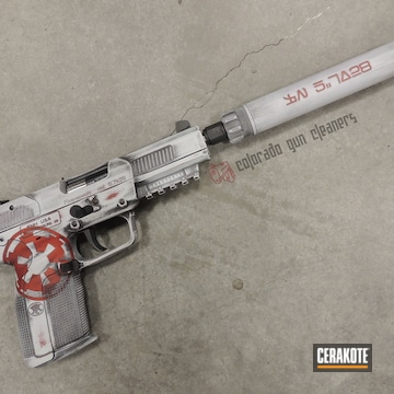 Cerakoted Star Wars Themed Finish On This Fn57 Handgun