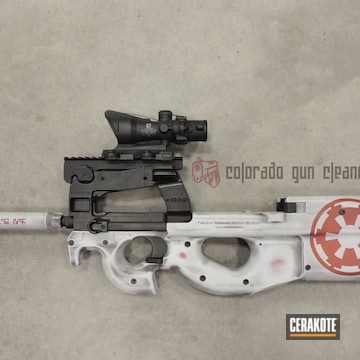 Cerakoted Star Wars Themed Finish On This Fn P90