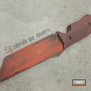 Cerakoted Star Wars Themed Knife