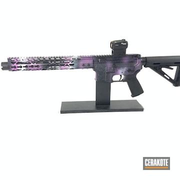 Cerakoted Spikes M16 Rifle And Custom Cerakote Finish