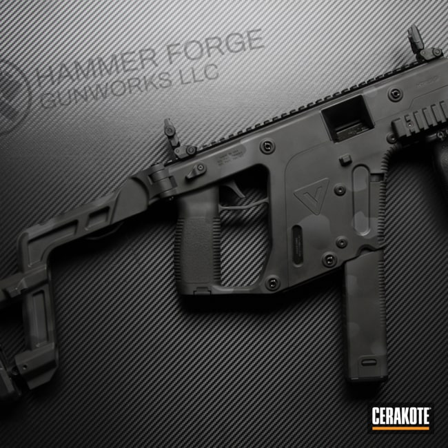 Kriss Vector SBR And Cerakote Subdued MultiCam Finish By