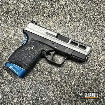 Cerakoted Springfield Xds Slide With Cerakote H-146 And H-170