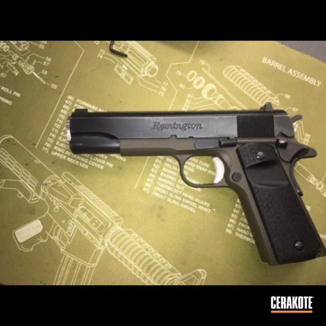 "Thumbnail image for project ""Two Toned Remington 1911 Handgun"""