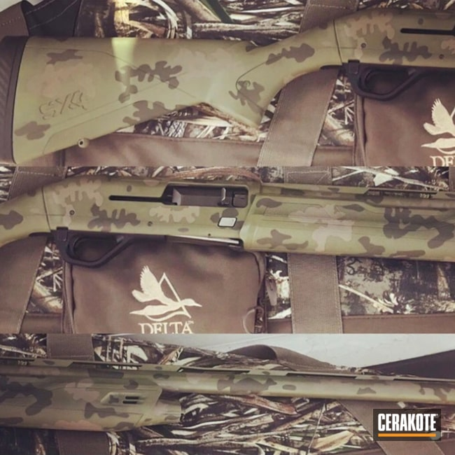 "Thumbnail image for project ""Cerakote MultiCam on these Shotguns"""