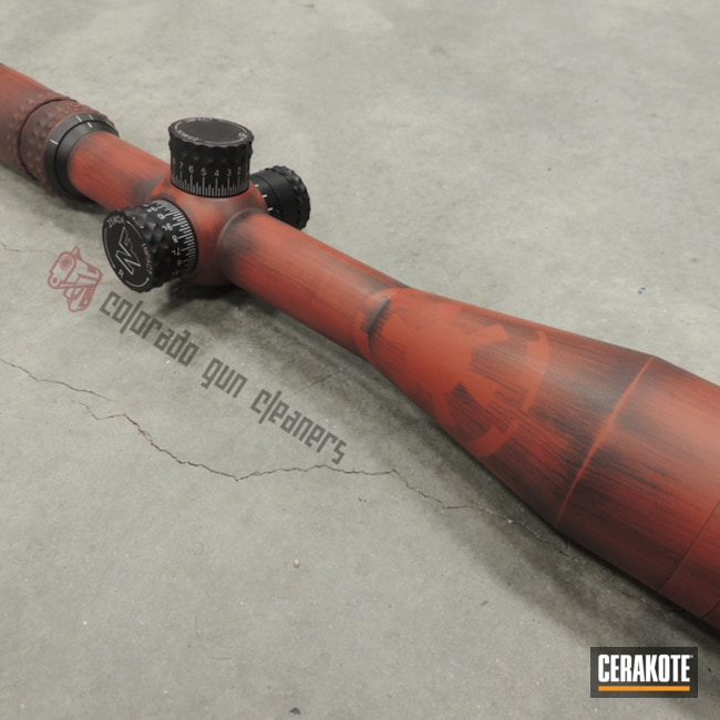 Cerakoted: S.H.O.T,Scope,Graphite Black H-146,Distressed,Crimson H-221,Star Wars Theme,Theme,Star Wars